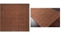 "Surya Mystique M-334 Dark Brown 9'9"" Square Area Rug"