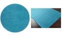 Surya Mystique M-342 Bright Blue 8' Round Area Rug