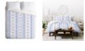 Deny Designs Holli Zollinger French Linen Boho Stripe King Duvet Set