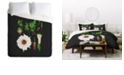 Deny Designs Holli Zollinger Desert Botanical Datura Queen Duvet Set