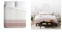 Deny Designs Holli Zollinger French Linen Sandstone Tassel Twin Duvet Set
