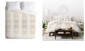 Deny Designs Holli Zollinger Deco Gold Twin Duvet Set