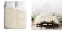 Deny Designs Holli Zollinger Palm Linen Twin Duvet Set