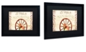 """Trademark Global Color Bakery 'Vermont Summer Xii' Matted Framed Art, 16"""" x 20"""""""