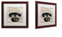 """Trademark Global Color Bakery 'Call Waiting Ii' Matted Framed Art, 16"""" x 16"""""""