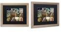 "Trademark Global Color Bakery 'Hunting Season I' Matted Framed Art, 16"" x 20"""