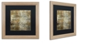 """Trademark Global Color Bakery 'Cities Of The World Ii' Matted Framed Art, 16"""" x 16"""""""