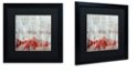"""Trademark Global Color Bakery 'New Orleans Seafood Iii' Matted Framed Art, 16"""" x 16"""""""