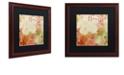 """Trademark Global Color Bakery 'October Pastel Ii' Matted Framed Art, 16"""" x 16"""""""