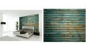 Brewster Home Fashions Washed Timber Wall Mural
