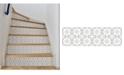 Brewster Home Fashions Scandia Stair Stripe Decal