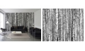 Brewster Home Fashions Wood For The Trees Wall Mural