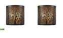 ELK Lighting Hooper 2 Outdoor Sconce Oil Rubbed Bronze