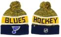 Authentic NHL Headwear St. Louis Blues Goalie Knit Hat