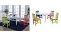 Furniture of America Rowley II 5-Piece Youth Table Set