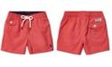 Polo Ralph Lauren Baby Boys Traveler Twill Swim Trunks