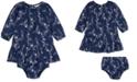 Polo Ralph Lauren Baby Girls Floral-Print Dress