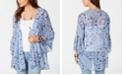 Style & Co Petite Printed Kimono, Created for Macy's
