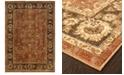 """Oriental Weavers CLOSEOUT!  Casablanca 4465E Orange/Mink 7'10"""" x 10'10"""" Area Rug"""