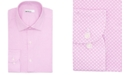 Bar III Men's Slim-Fit Performance Stretch Floral Tile Dress Shirt, Created for Macy's
