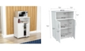 Inval America Microwave Cabinet