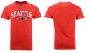 Retro Brand Men's Seattle Redhawks Midsize T-Shirt