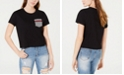 Rebellious One Juniors' Printed Pocket T-Shirt