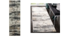 "Safavieh Adirondack Light Grey and Black 2'6"" x 8' Runner Area Rug"