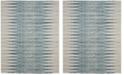 Safavieh Evoke Ivory and Turquoise 8' x 10' Area Rug