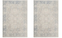 """Safavieh Patina Taupe and Blue 5'1"""" x 7'6"""" Area Rug"""