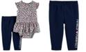 Carter's Baby Girls 2-Pc. Cheetah-Print Cotton Bodysuit & Pants Set