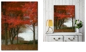 """Courtside Market Maple Tree Walk Gallery-Wrapped Canvas Wall Art - 16"""" x 20"""""""