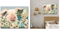 """Courtside Market Pig in The Flower Garden Gallery-Wrapped Canvas Wall Art - 18"""" x 24"""""""