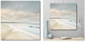 """Courtside Market Cloud Coast Gallery-Wrapped Canvas Wall Art - 20"""" x 20"""""""