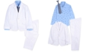 Nautica Little Boys 4-Pc. Twill Sailboat Suit Set