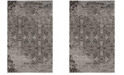 Safavieh Classic Vintage Silver and Brown 4' x 6' Area Rug