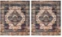 Safavieh Baldwin Slate Blue and Rust 9' x 12' Area Rug