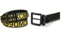 Steve Madden Reversible Roman Numeral Plus-size Belt