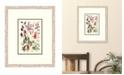 "Melissa Van Hise Cottage Flowers I Framed Giclee Wall Art - 21"" x 25"" x 2"""