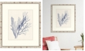 "Melissa Van Hise Sea Grass V Framed Giclee Wall Art - 27"" x 31"" x 2"""