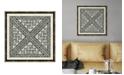 "Melissa Van Hise Woodblocks I Framed Giclee Wall Art - 22"" x 22"" x 2"""