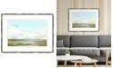 """Melissa Van Hise Habitat II Framed Giclee Wall Art - 40"""" x 30"""" x 2"""""""