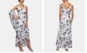 Alex Evenings Ruffled High-Low Gown & Shawl
