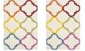 Safavieh Shag Kids Ivory and Multi 4' x 6' Area Rug