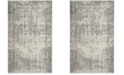 Safavieh Classic Vintage Silver and Ivory 4' x 6' Area Rug
