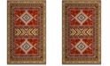 "Safavieh Classic Vintage Orange and Gold 6'7"" x 9'2"" Area Rug"