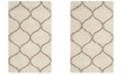 Safavieh Hudson Ivory and Beige 2' x 3' Area Rug