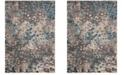 Safavieh Monaco Gray and Light Blue 10' x 14' Area Rug