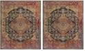 Safavieh Harmony Navy and Gold 11' x 16' Sisal Weave Rectangle Area Rug