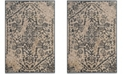 "Safavieh Vintage Cream and Blue 6'7"" x 9'2"" Area Rug"